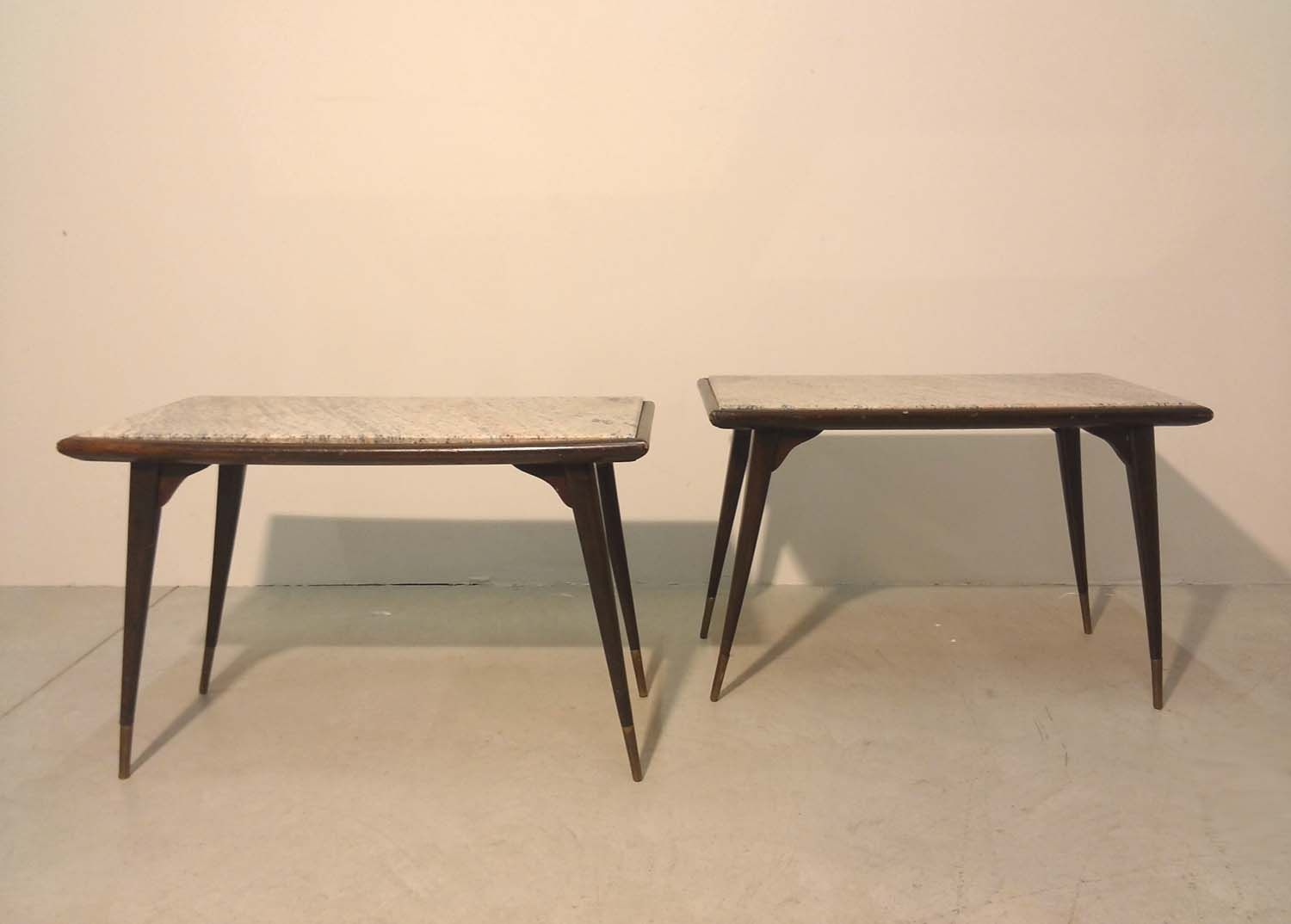 Side Tables 1950s Set Of 2