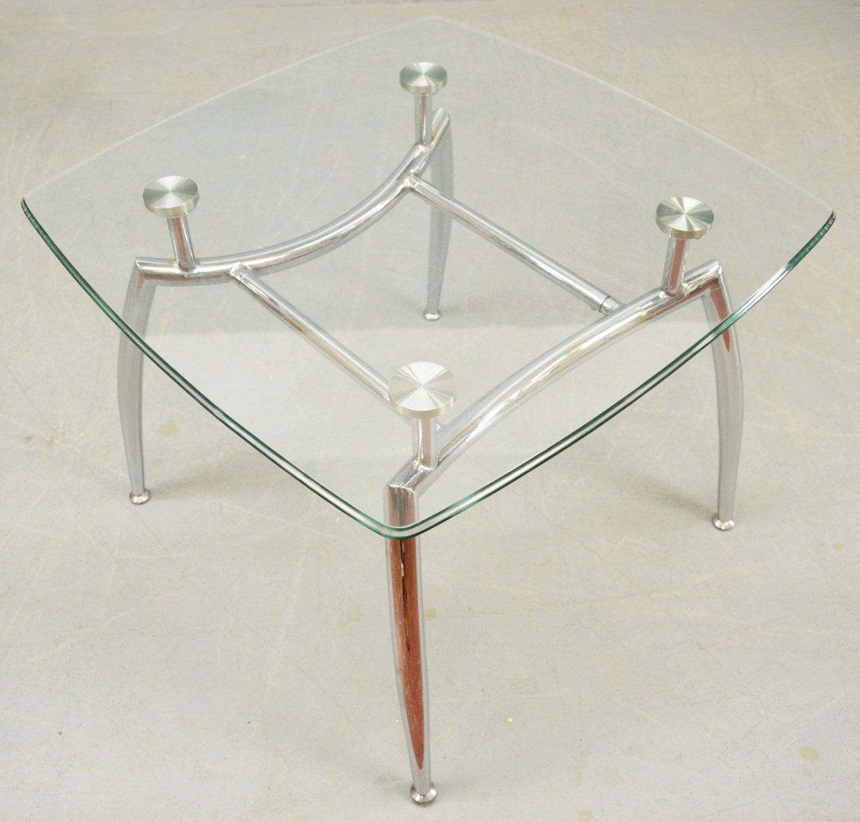 Glass U0026 Chrome Coffee Table, 1980s 7. $798.00. Price Per Piece