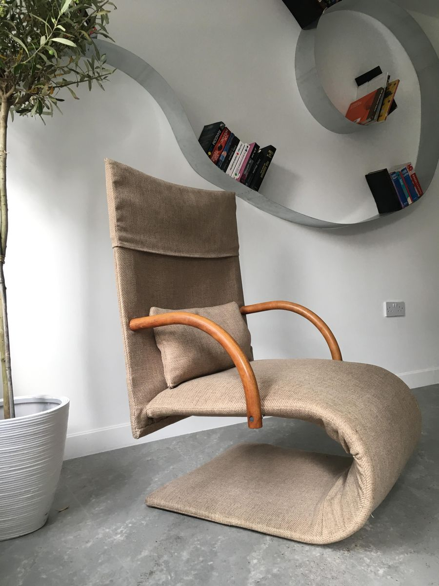 French Zen Chair by Claude Brisson for Ligne Roset, 1980s for sale ...