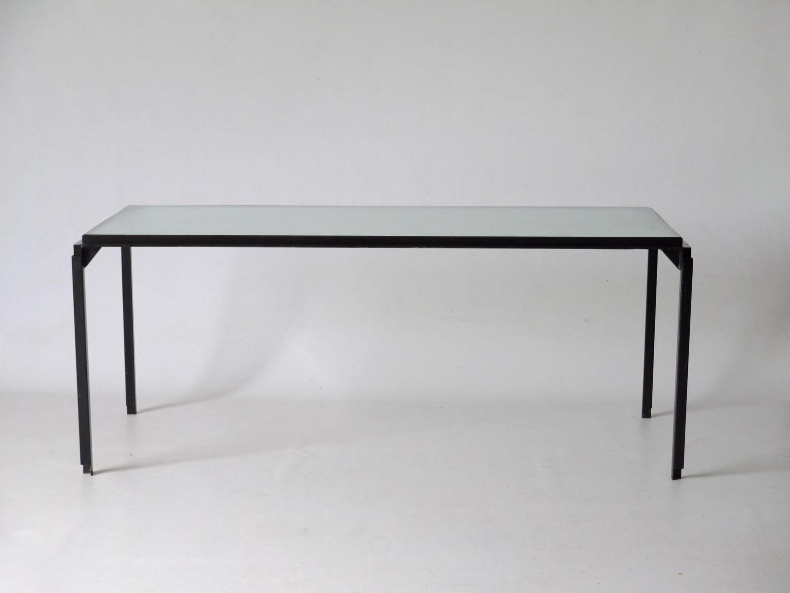 gro er niederl ndischer industrieller tisch 1950er bei pamono kaufen. Black Bedroom Furniture Sets. Home Design Ideas
