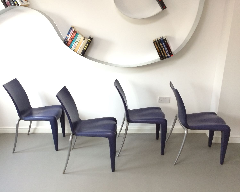 louis 20 st hle von philippe starck f r vitra 4er set bei. Black Bedroom Furniture Sets. Home Design Ideas