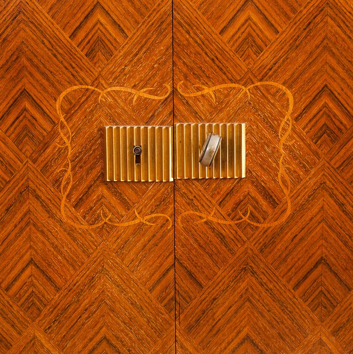 art deco sideboard from maison jules leleu for sale at pamono. Black Bedroom Furniture Sets. Home Design Ideas