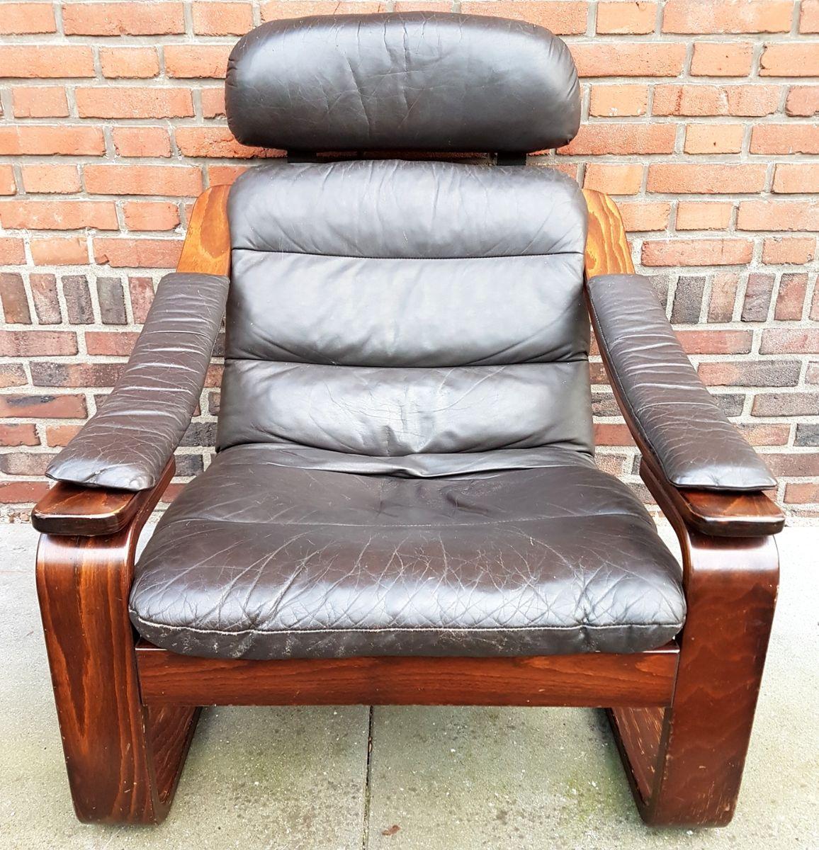 skandinavischer sessel aus bugholz 1978 bei pamono kaufen. Black Bedroom Furniture Sets. Home Design Ideas