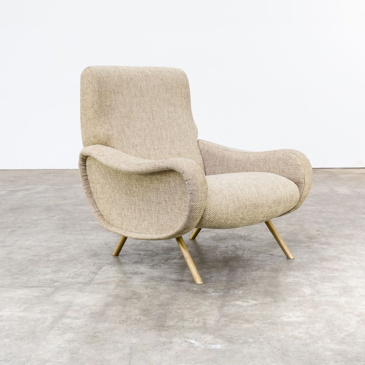 Lady Armchair by Marco Zanuso for Arflex, 1950s for sale at Pamono