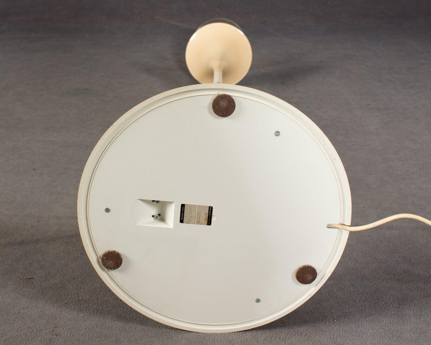 mid century panthella stehlampe von verner panton f r. Black Bedroom Furniture Sets. Home Design Ideas