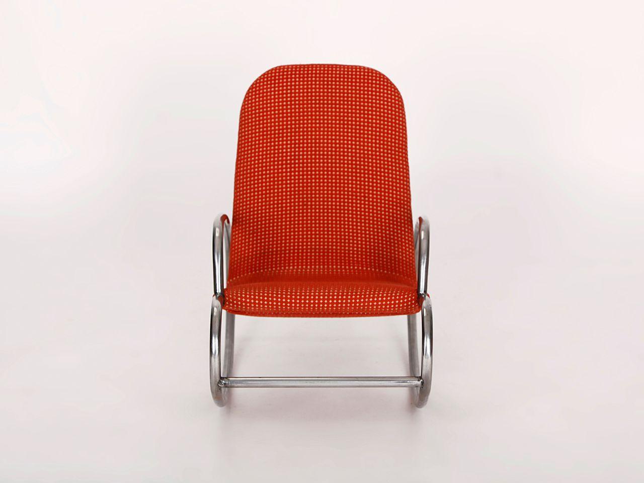 rocking chair pour enfant 1930s en vente sur pamono. Black Bedroom Furniture Sets. Home Design Ideas