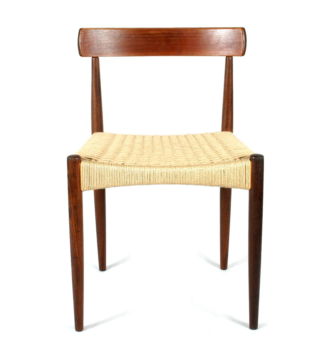 skandinavischer mid century stuhl von arne hovmand olsen. Black Bedroom Furniture Sets. Home Design Ideas