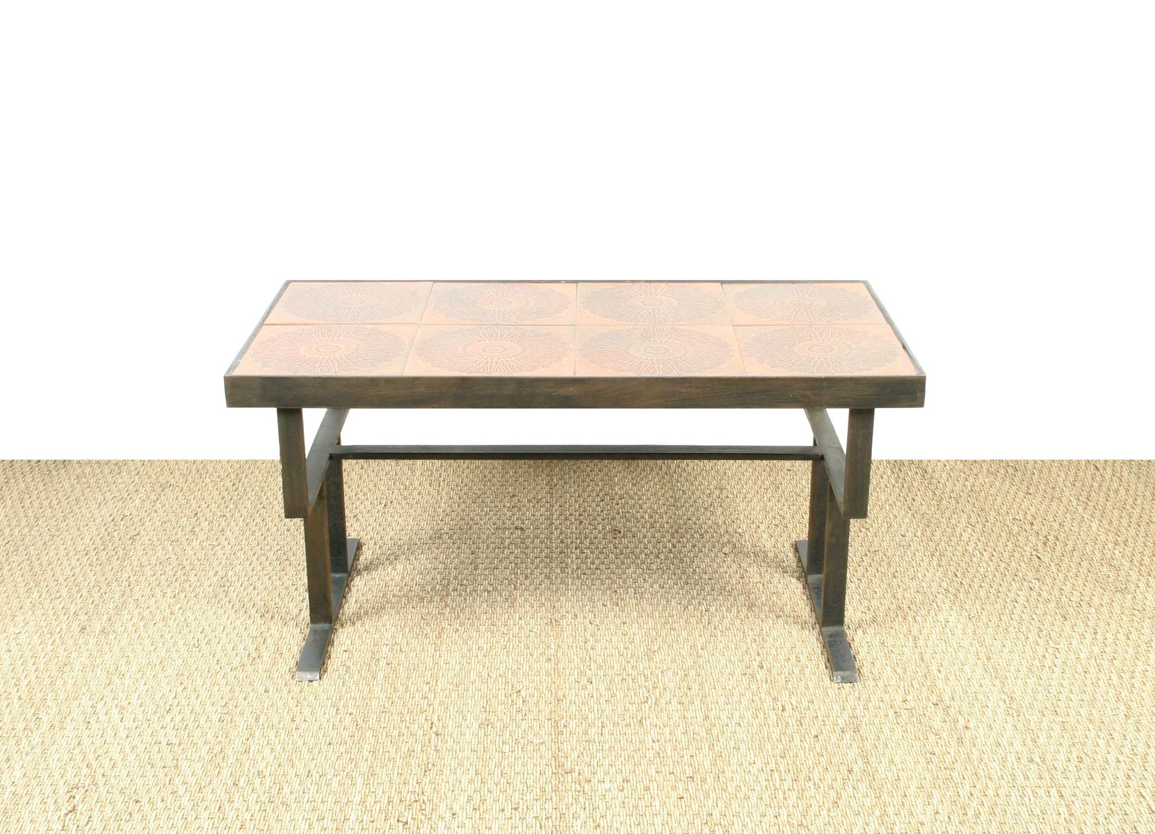 Ceramic Coffee Table 1950s for sale at Pamono