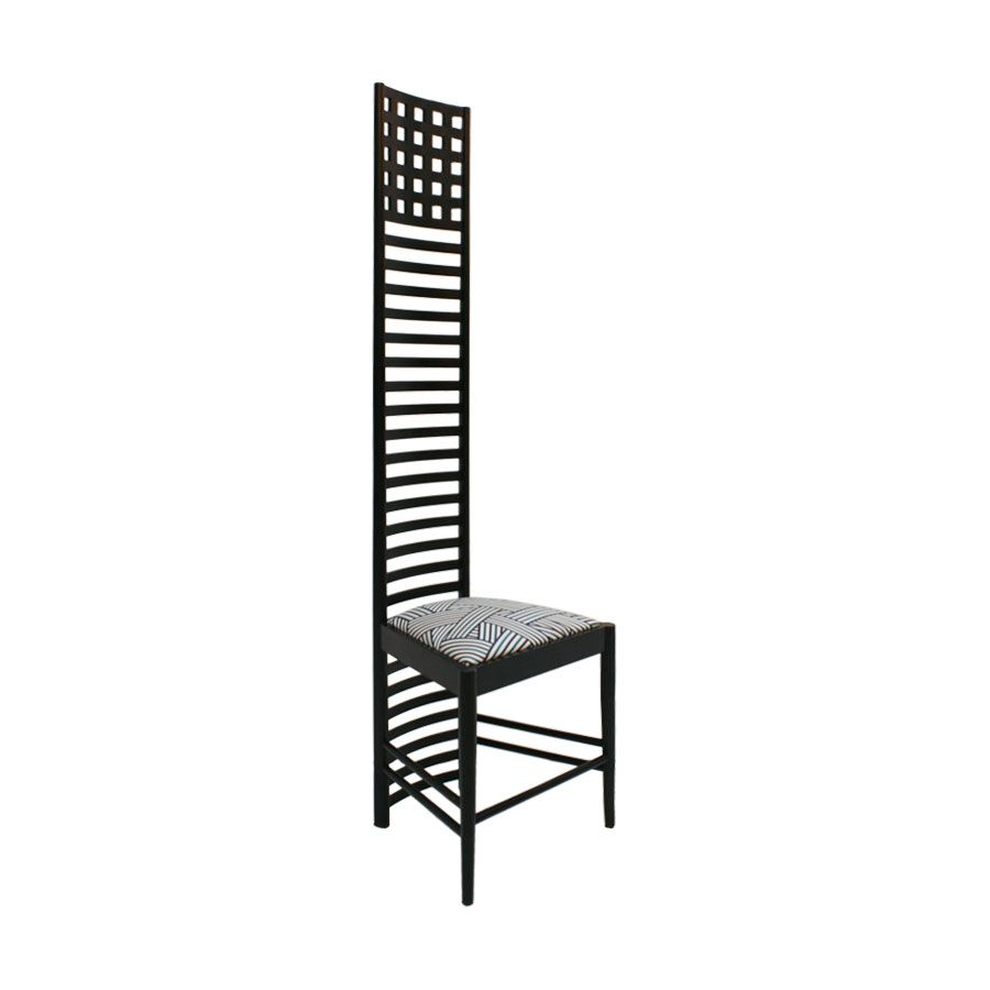 292 hill house 1 chairs by charles rennie mackintosh for cassina 1970s set of 2 for sale at pamono. Black Bedroom Furniture Sets. Home Design Ideas