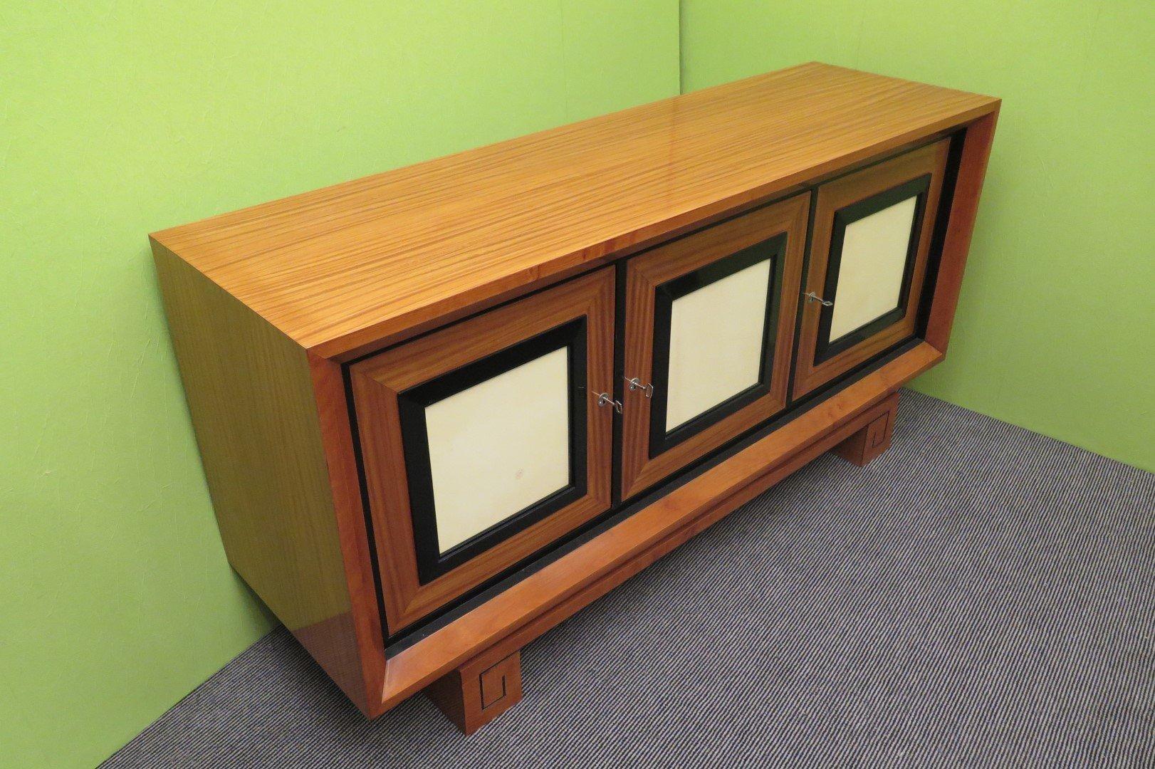 italienisches art deco sideboard 1930er bei pamono kaufen. Black Bedroom Furniture Sets. Home Design Ideas