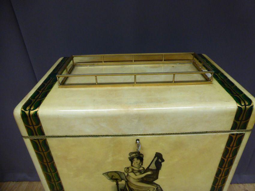 vintage barschrank von aldo tura bei pamono kaufen. Black Bedroom Furniture Sets. Home Design Ideas