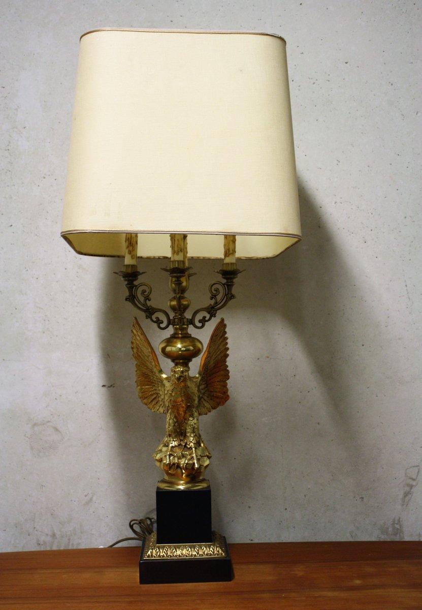 Mid Century Hollywood Regency Eagle Lamp From Deknudt, 1960s