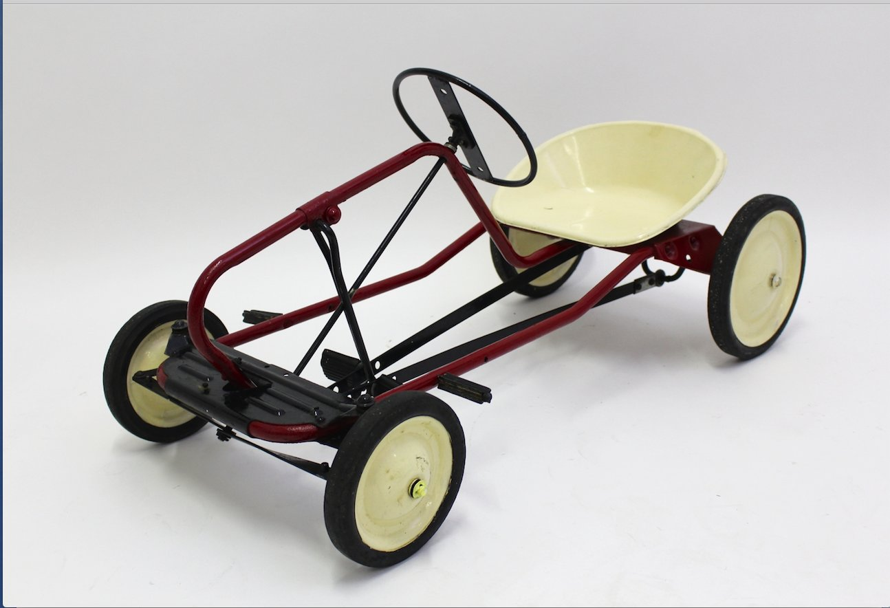 Red Toy Pedal Car For Children 1950s For Sale At Pamono