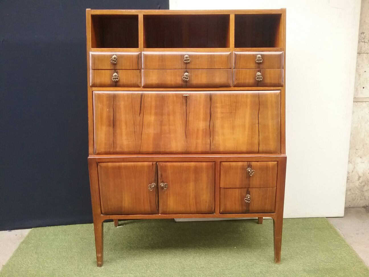 vintage barschrank 1950er bei pamono kaufen. Black Bedroom Furniture Sets. Home Design Ideas