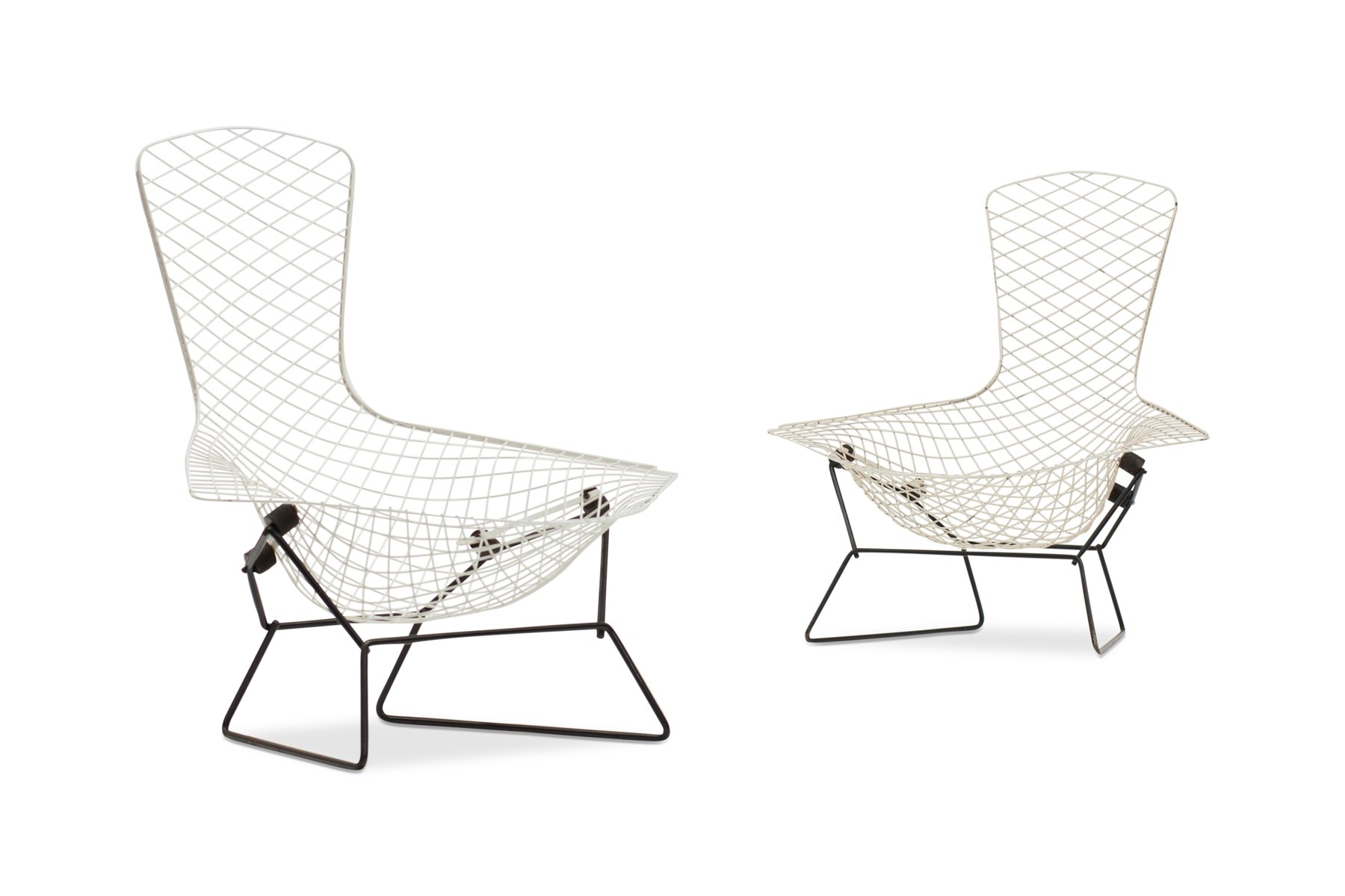 bird st hle von harry bertoia f r knoll international 1960er 2er set bei pamono kaufen. Black Bedroom Furniture Sets. Home Design Ideas