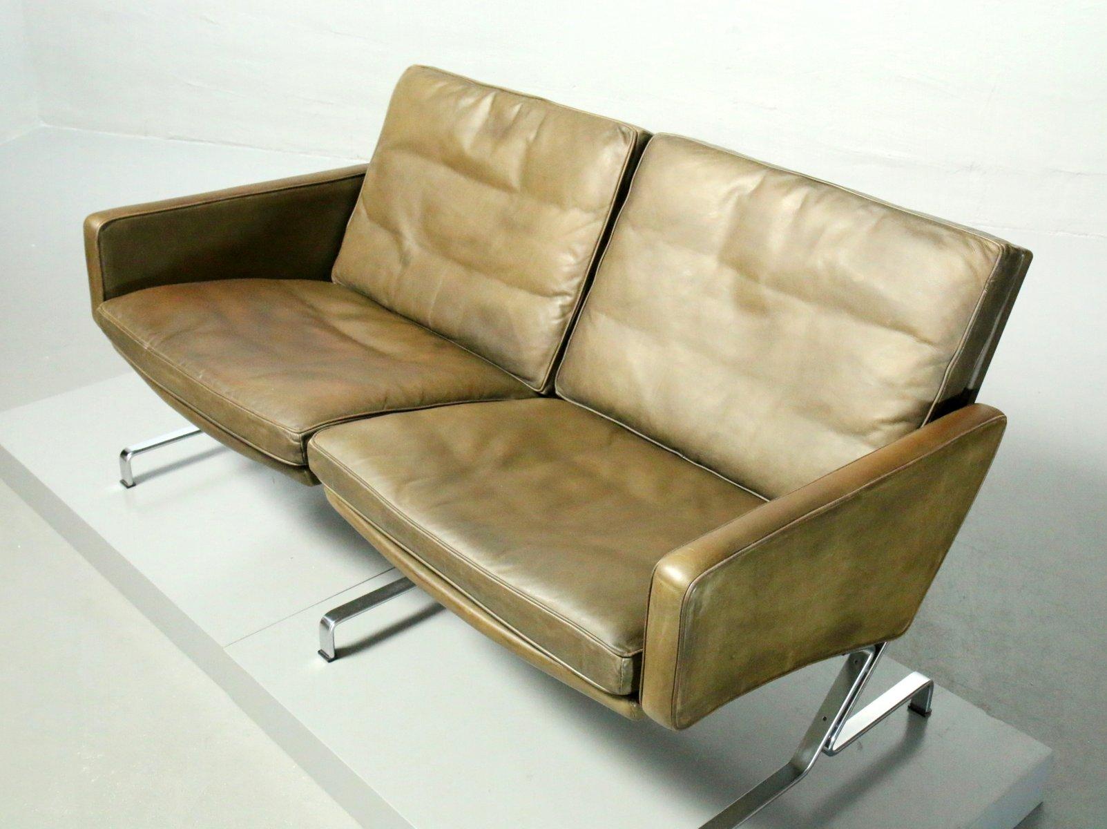 vintage jk 730 zwei sitzer sofa von j rgen kastholm f r kill international bei pamono kaufen. Black Bedroom Furniture Sets. Home Design Ideas