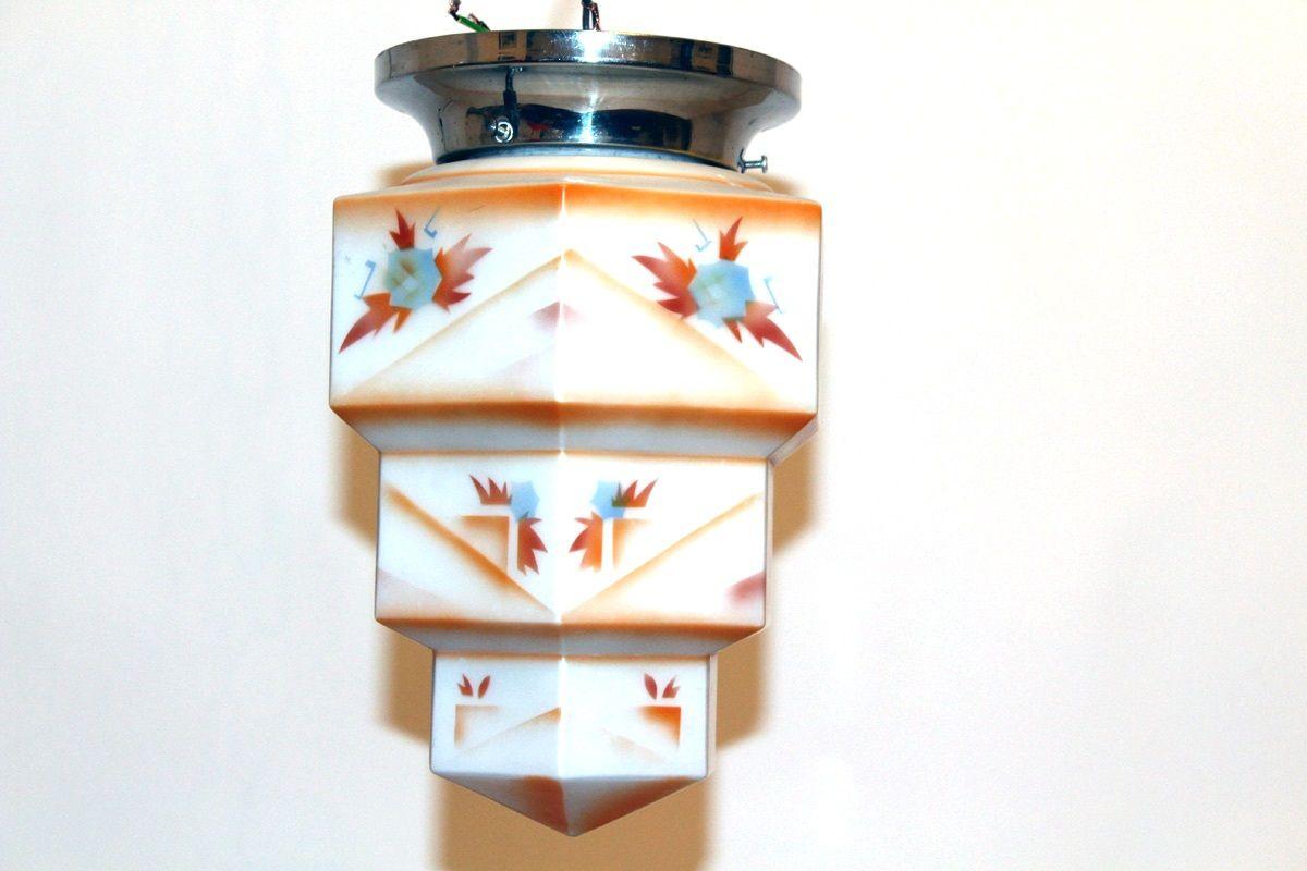 wiener vintage deckenlampe bei pamono kaufen. Black Bedroom Furniture Sets. Home Design Ideas