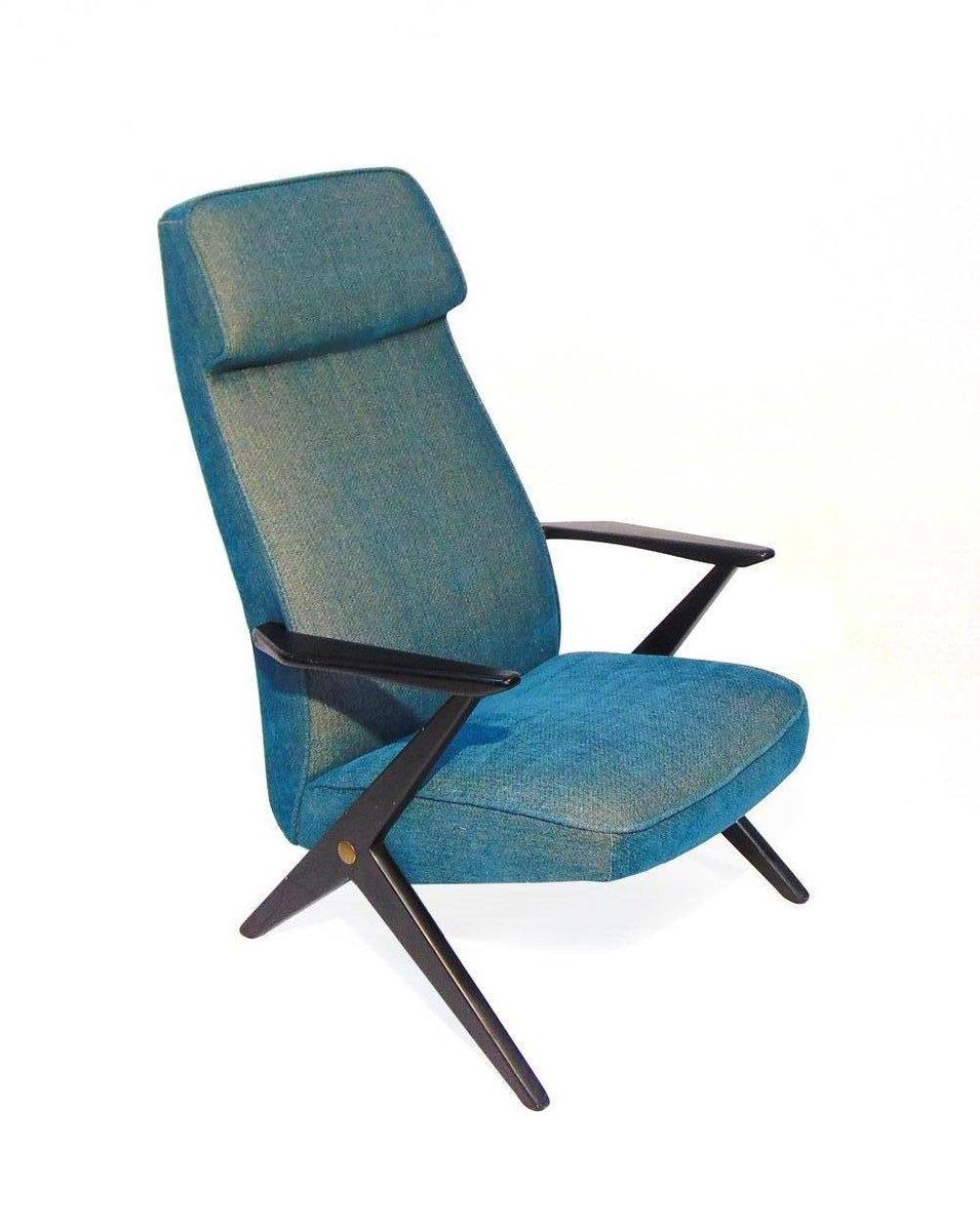 Elegant Swedish Lounge Chair By Bengt Ruda, 1960s