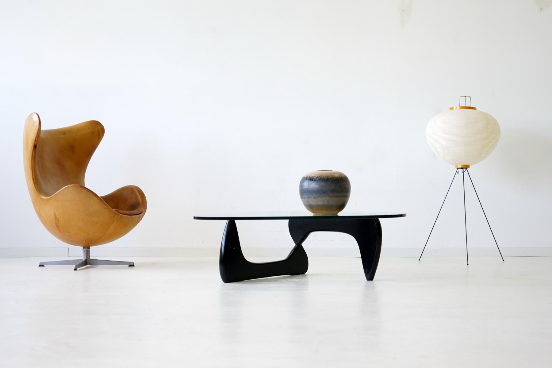 Glass Coffee Table By Isamu Noguchi For Herman Miller 1960s