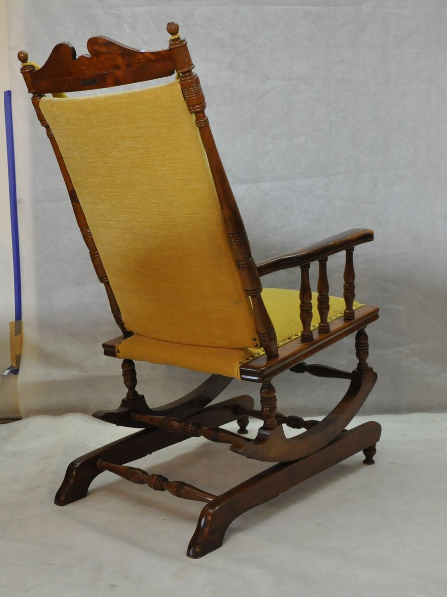 - Scandinavian Vintage Wooden Rocking Chair, 1950s For Sale At Pamono