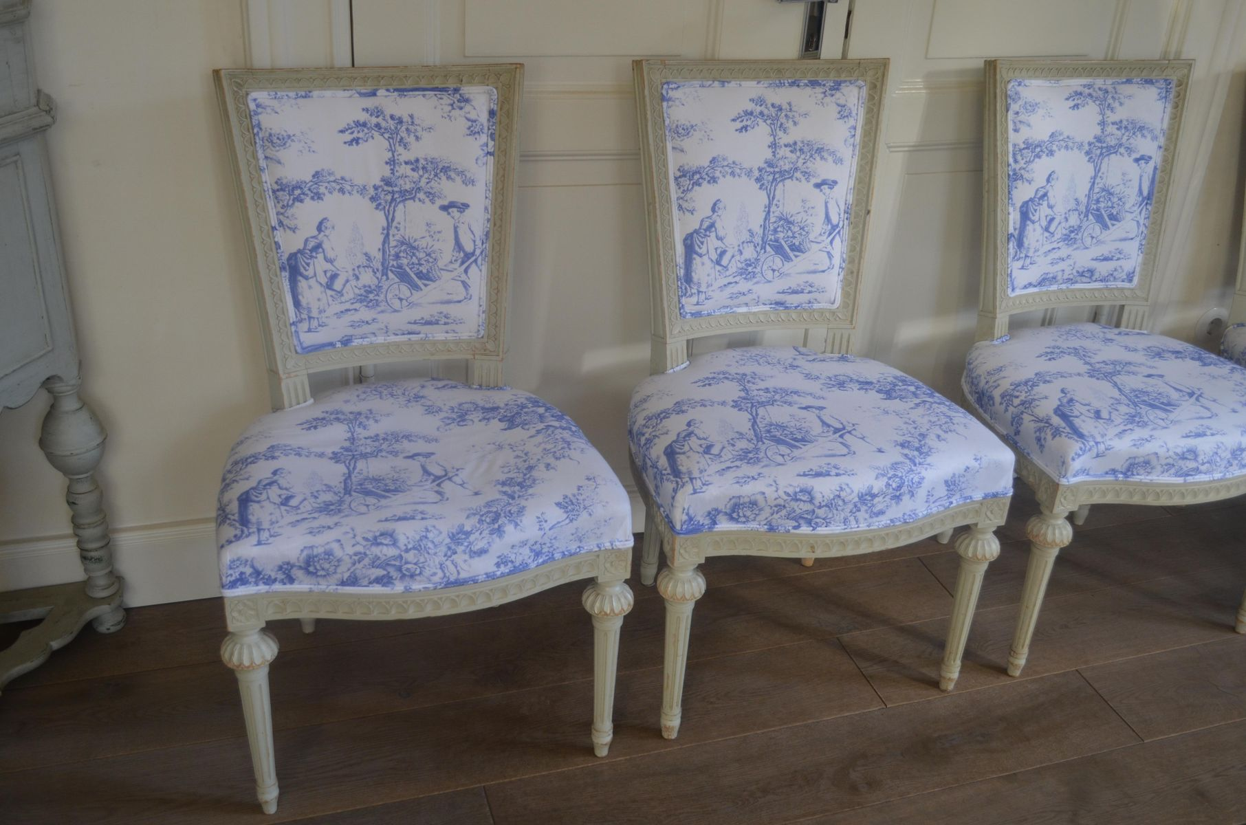 gustavianische lindome st hle 4er set bei pamono kaufen. Black Bedroom Furniture Sets. Home Design Ideas