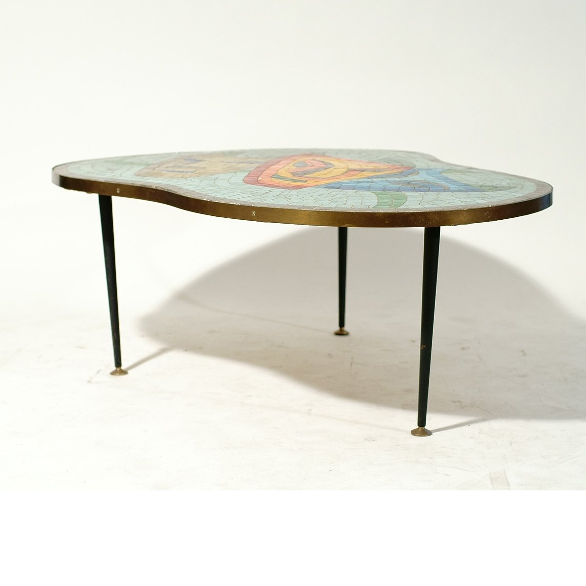 Mosaic Topped Coffee Table 1960s 4 2 856 00