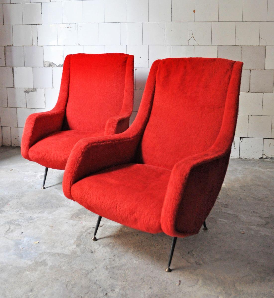 mid century sessel mit holzgestellen 2er set bei pamono kaufen. Black Bedroom Furniture Sets. Home Design Ideas