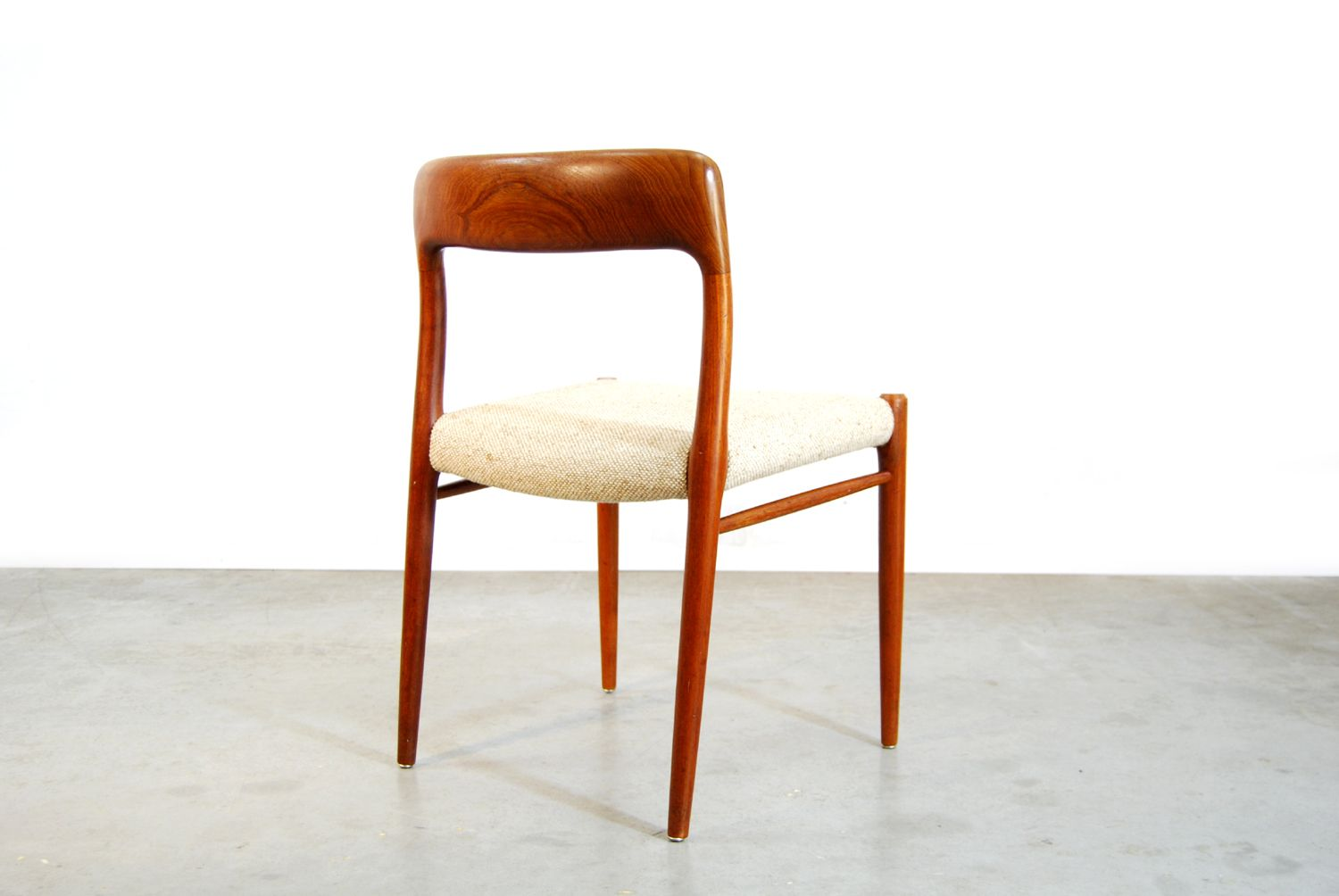 Danish Teak Dining Chairs By Niels O Moller For JL Mollers