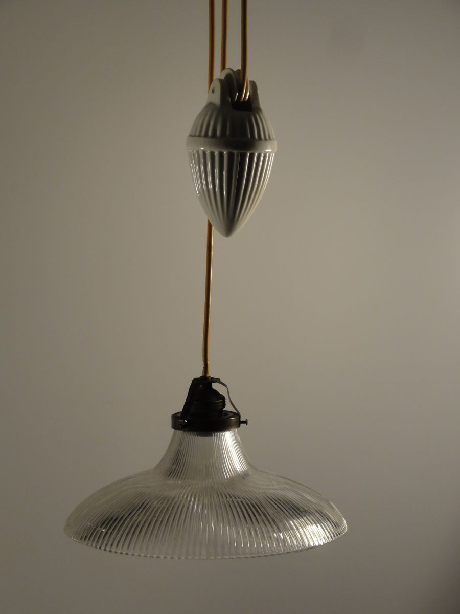 Porcelain pendant light with glass shade 1900s for sale at pamono price per piece mozeypictures Choice Image
