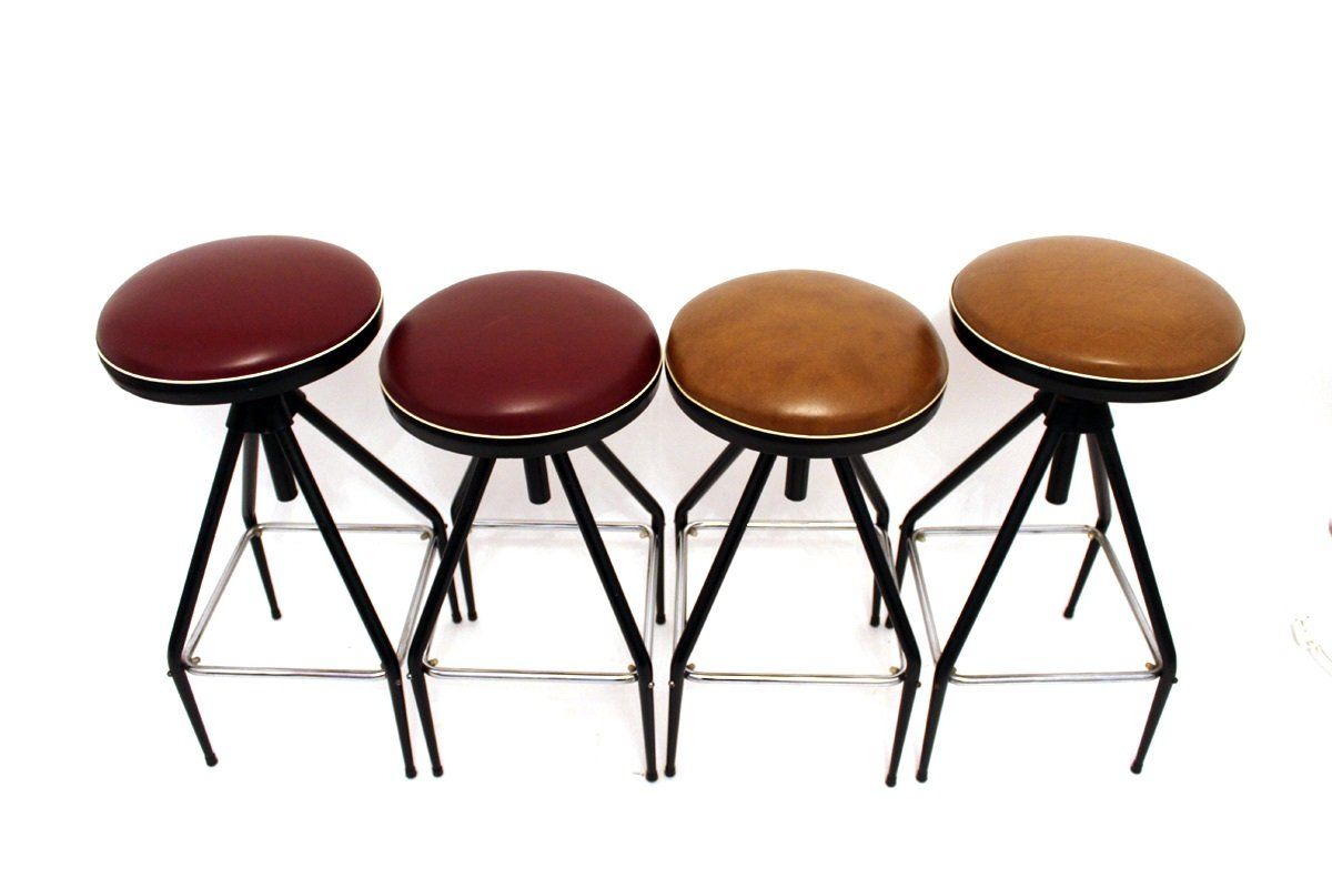 Bar Stools From Sonett 1960s Set Of 2 For Sale At Pamono