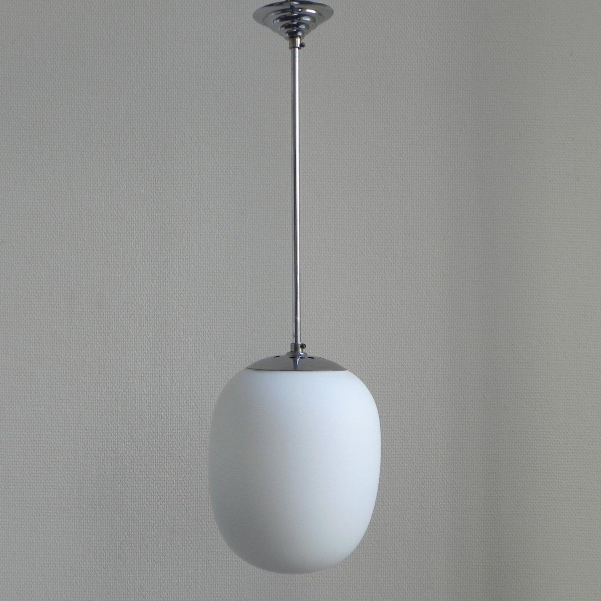 vintage lampe mit glaskugel bei pamono kaufen. Black Bedroom Furniture Sets. Home Design Ideas