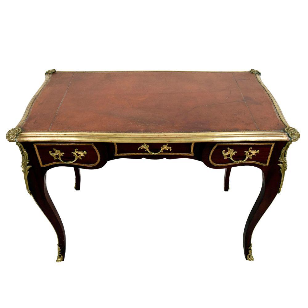 antiker franz sischer schreibtisch bei pamono kaufen. Black Bedroom Furniture Sets. Home Design Ideas