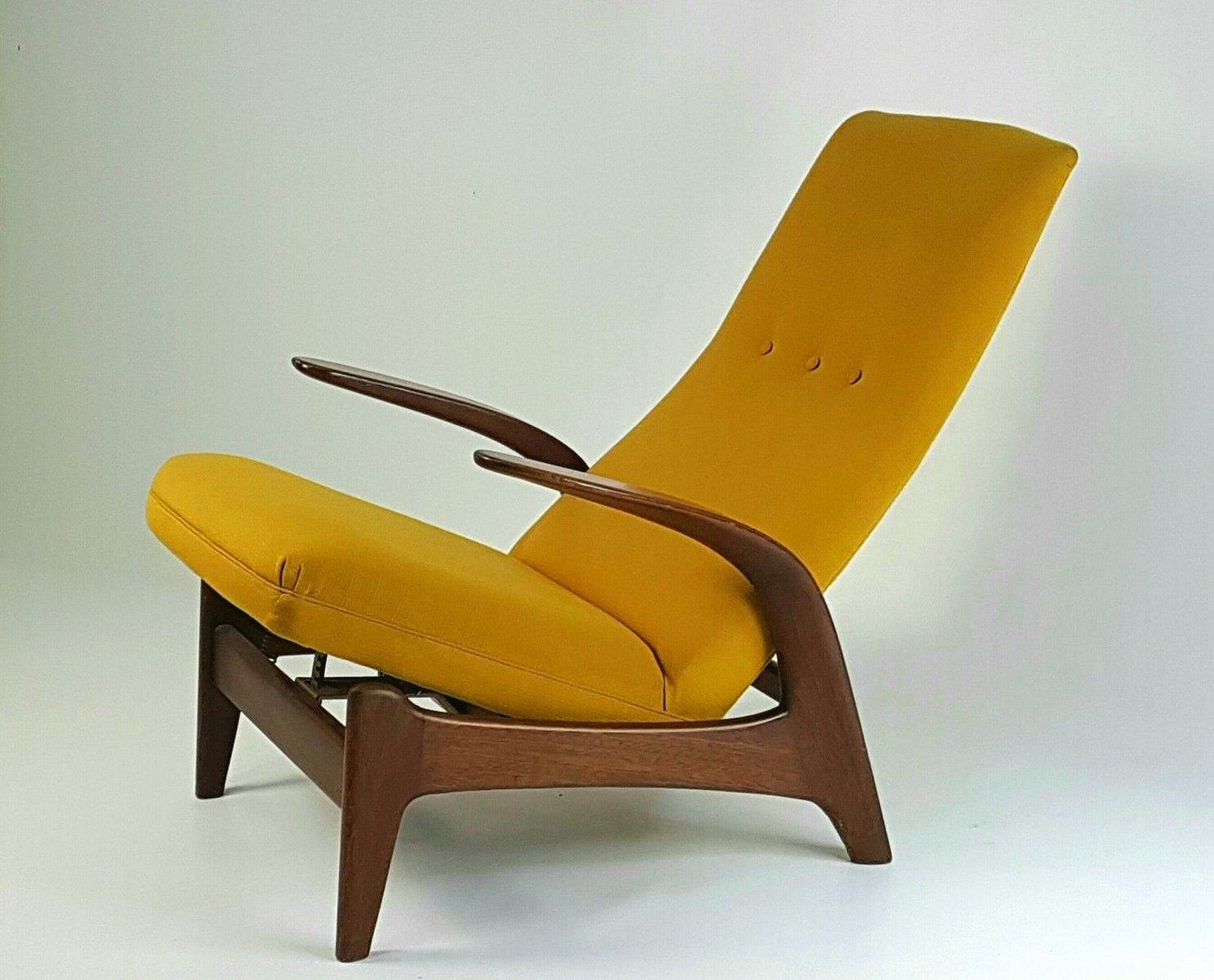 Vintage Rock U0026 Rest Reclining Armchair From Gimson U0026 Slater