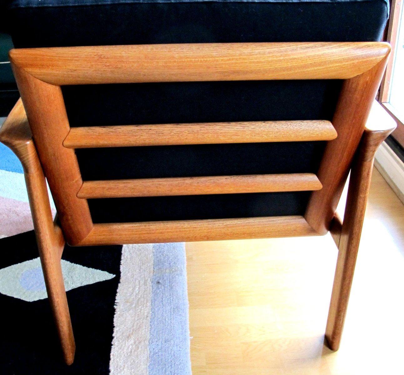 sofa und sessel von arne whal iversen f r komfort 1960er bei pamono kaufen. Black Bedroom Furniture Sets. Home Design Ideas