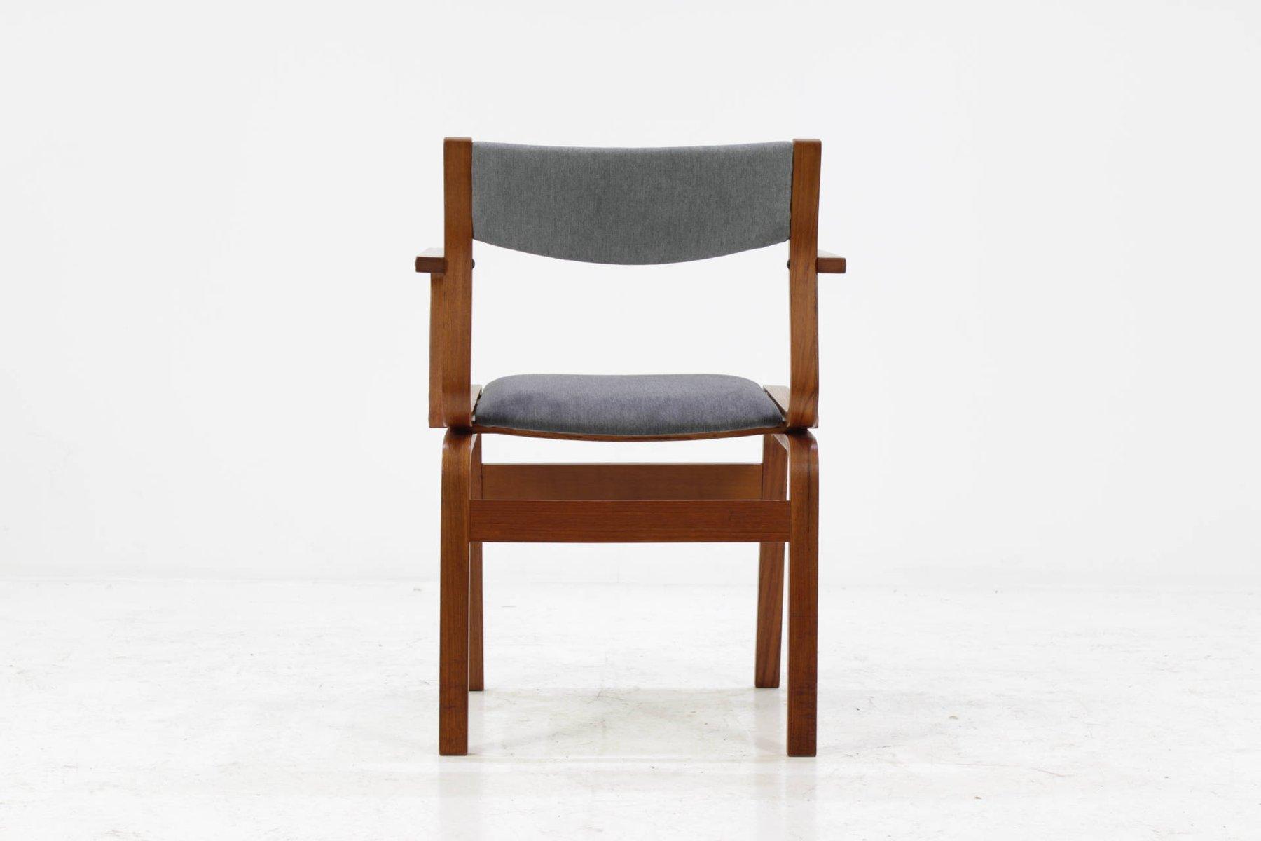 d nische vintage bugholz st hle aus teak 6er set bei pamono kaufen. Black Bedroom Furniture Sets. Home Design Ideas