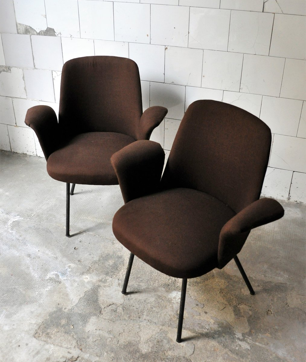 Armchairs 1950s set of 2 for sale at pamono for 2 armchairs for sale