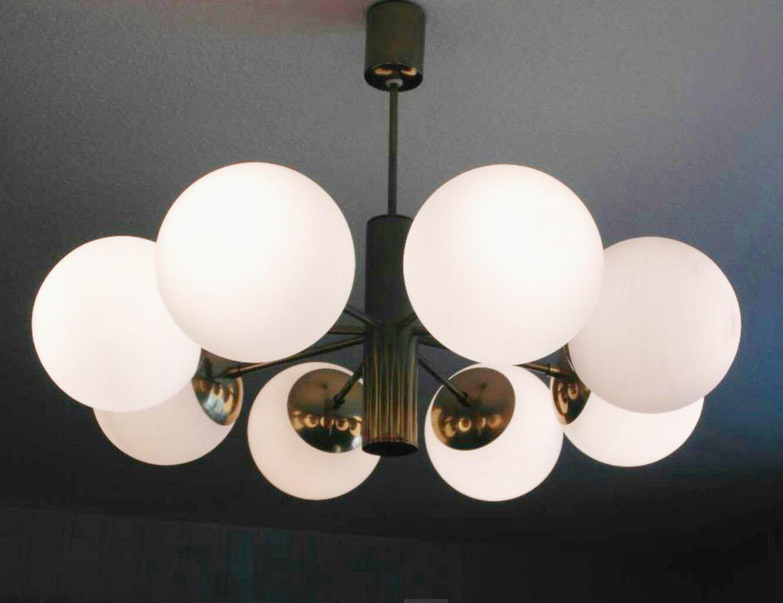 sputnik deckenleuchte von kaiser leuchten 1960er bei pamono kaufen. Black Bedroom Furniture Sets. Home Design Ideas