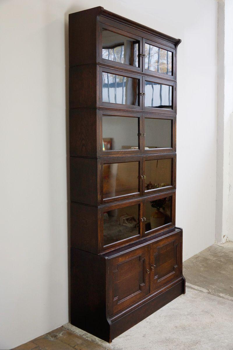oxford b cherschrank mit verschiedenen elementen von william baker 1910 bei pamono kaufen. Black Bedroom Furniture Sets. Home Design Ideas