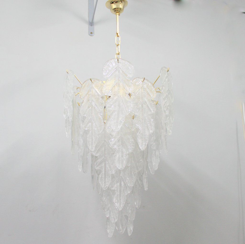 Vintage murano glass chandelier for sale at pamono vintage murano glass chandelier aloadofball Choice Image