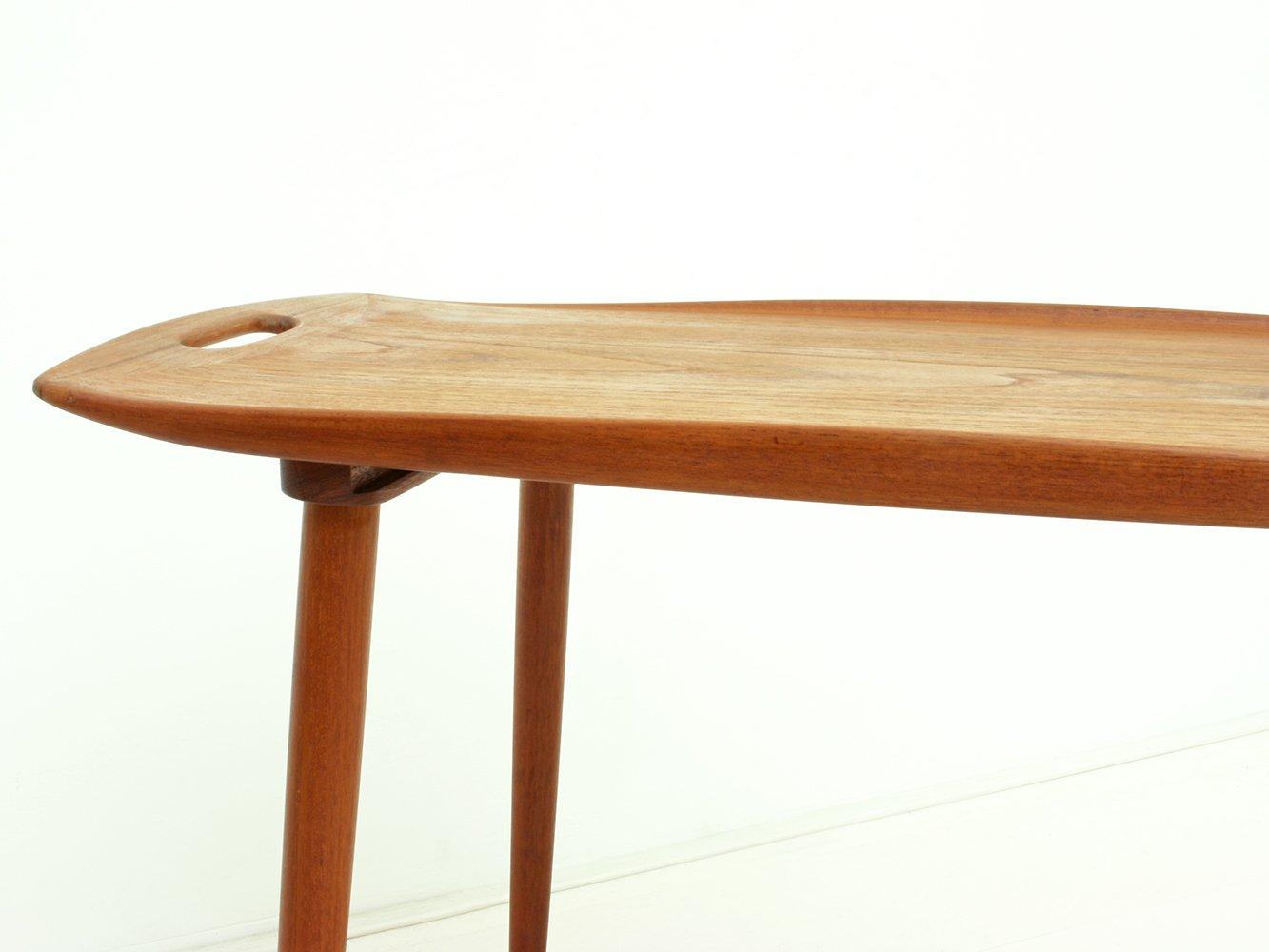 d nischer teak beistelltisch von jens quistgaard f r richard nissen 1960er bei pamono kaufen. Black Bedroom Furniture Sets. Home Design Ideas