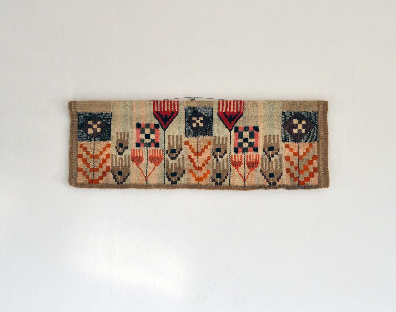 skandinavischer mid century modern wandteppich von mette birckner bei pamono kaufen. Black Bedroom Furniture Sets. Home Design Ideas