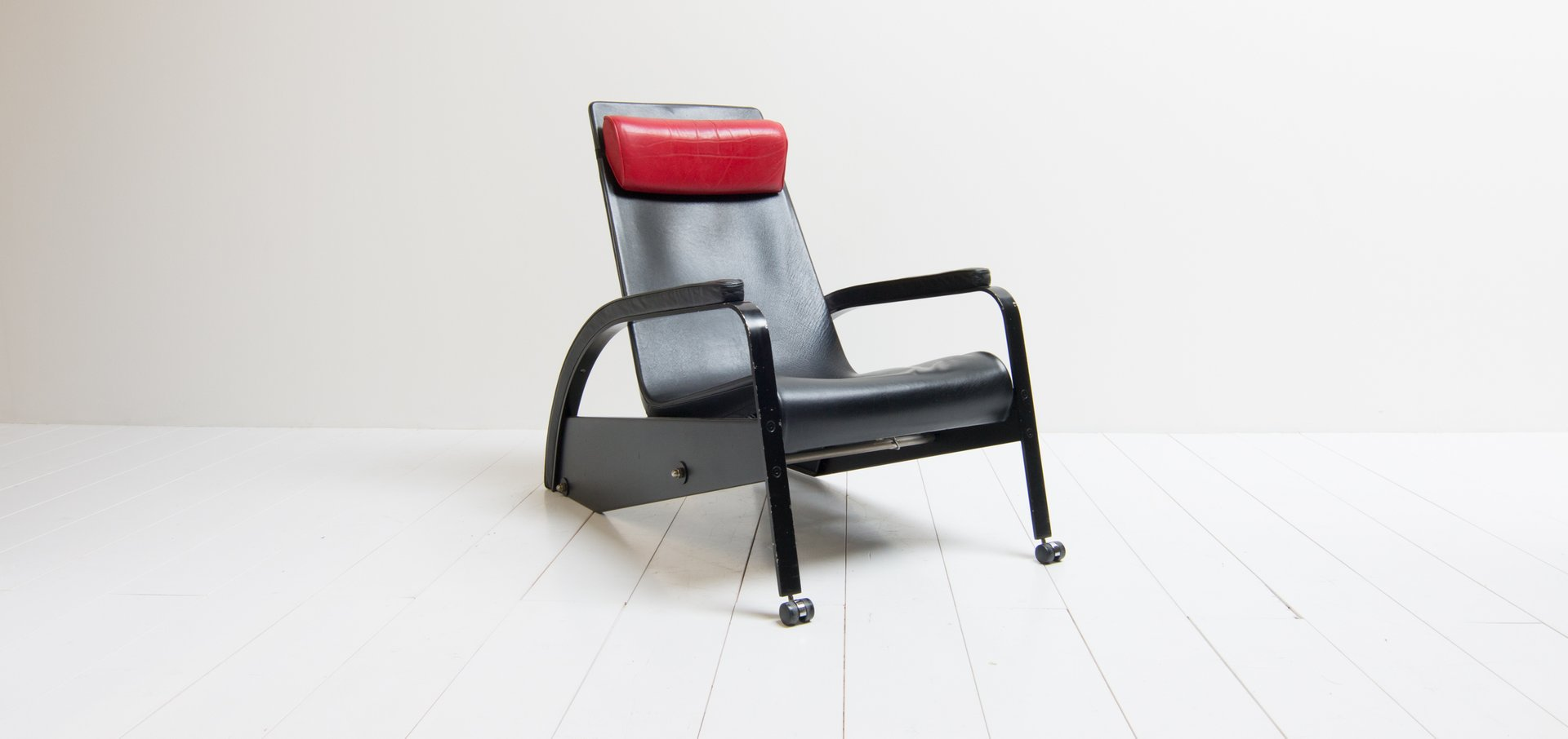 Vintage Model D80 1 Grand Repos Lounge Chair By Jean Prouvé For Tecta
