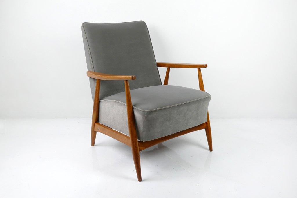 Grauer Sessel : grauer sessel 1960er bei pamono kaufen ~ Pilothousefishingboats.com Haus und Dekorationen