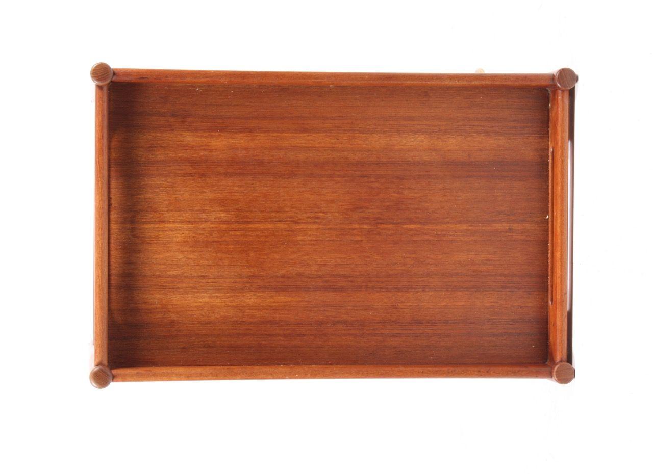 servierwagen aus teak von hans j wegner f r andreas tuck 1960er bei pamono kaufen. Black Bedroom Furniture Sets. Home Design Ideas