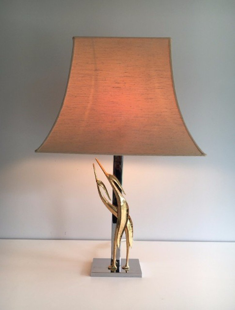 Sculptural Bird Table Lamp, 1970s