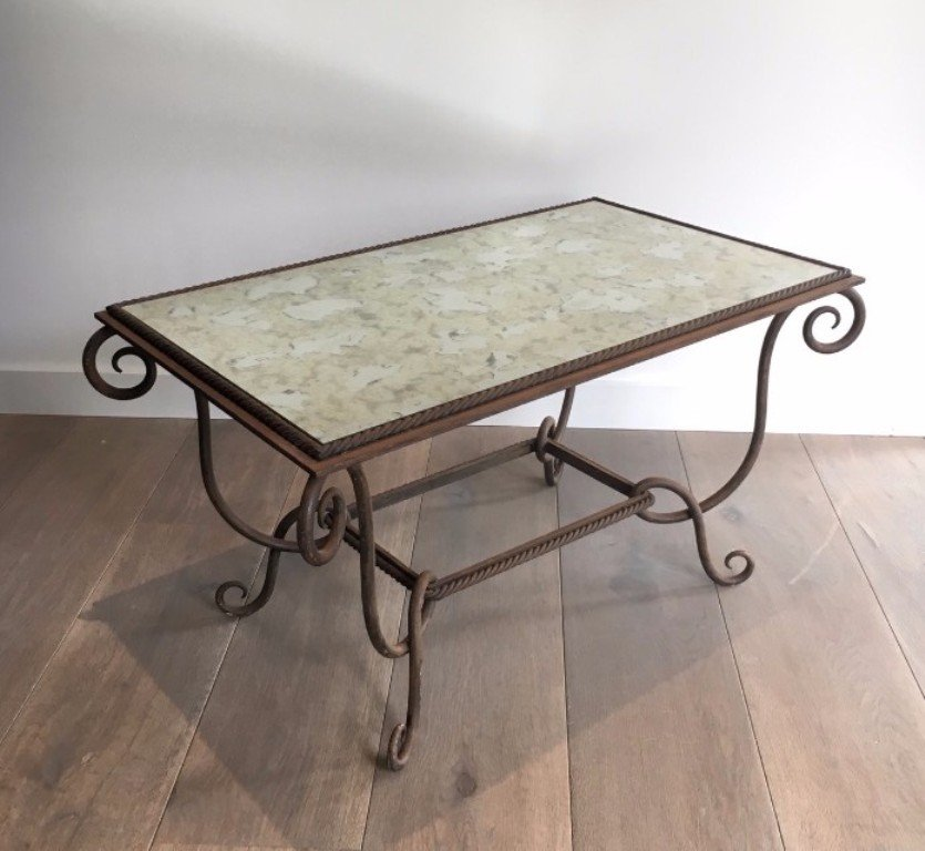 Vintage Iron Coffee Table For Sale At Pamono