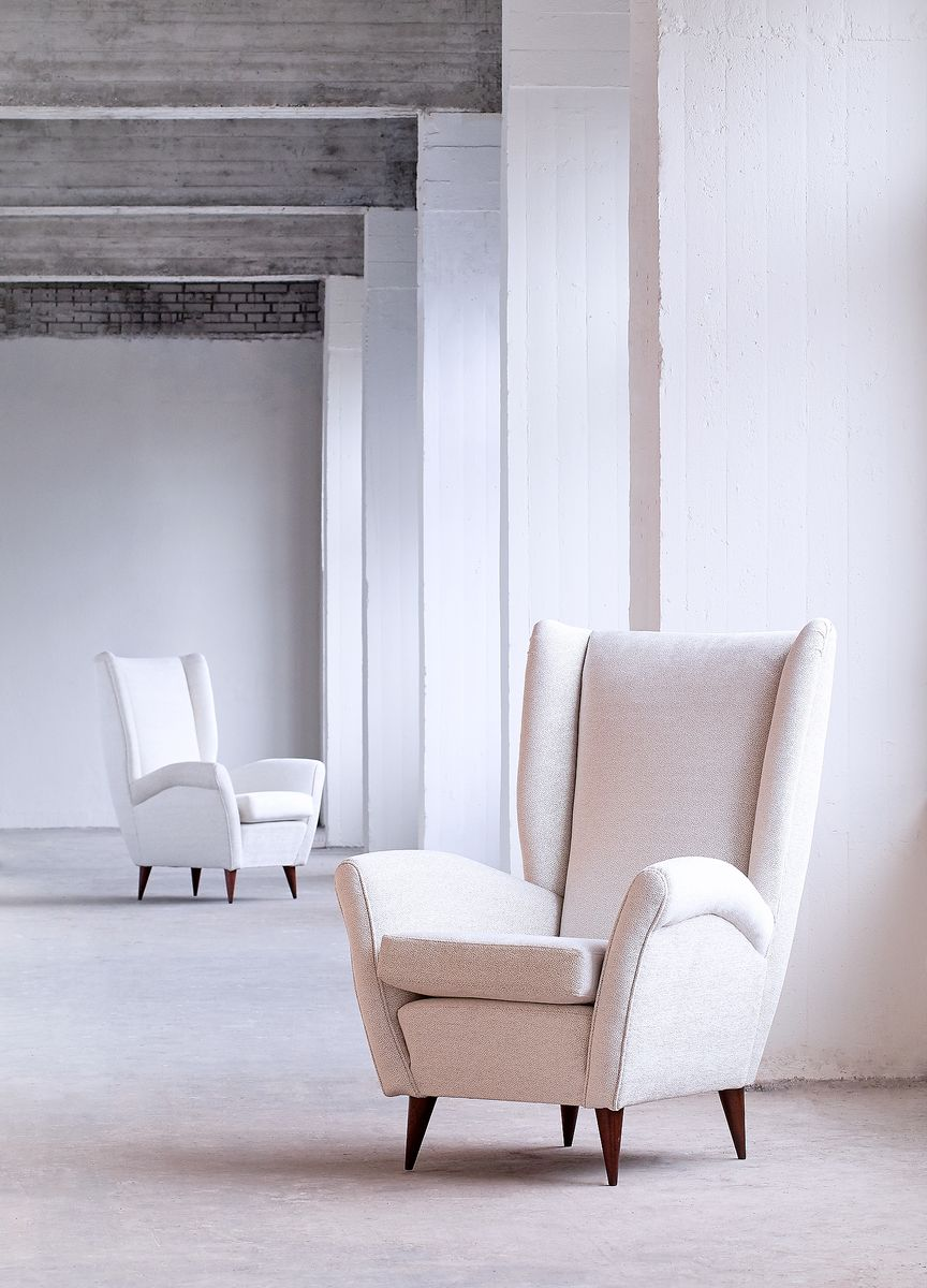 Armchairs by Gio Ponti, 1940s, Set of 2 for sale at Pamono