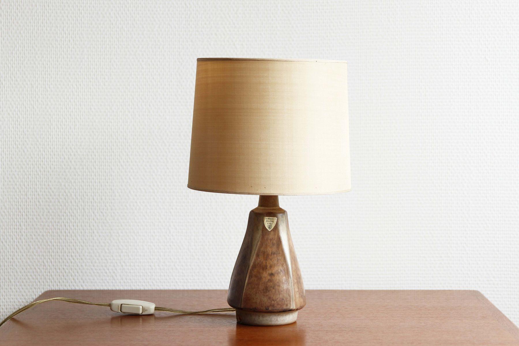 Mid century table lamp by michael andersen son en venta en pamono mid century table lamp by michael andersen son aloadofball Choice Image