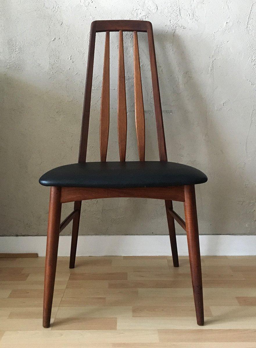 Mid century eva teak stuhl von niels koefoed f r koefoeds hornslet bei pamono kaufen - Mid century stuhl ...