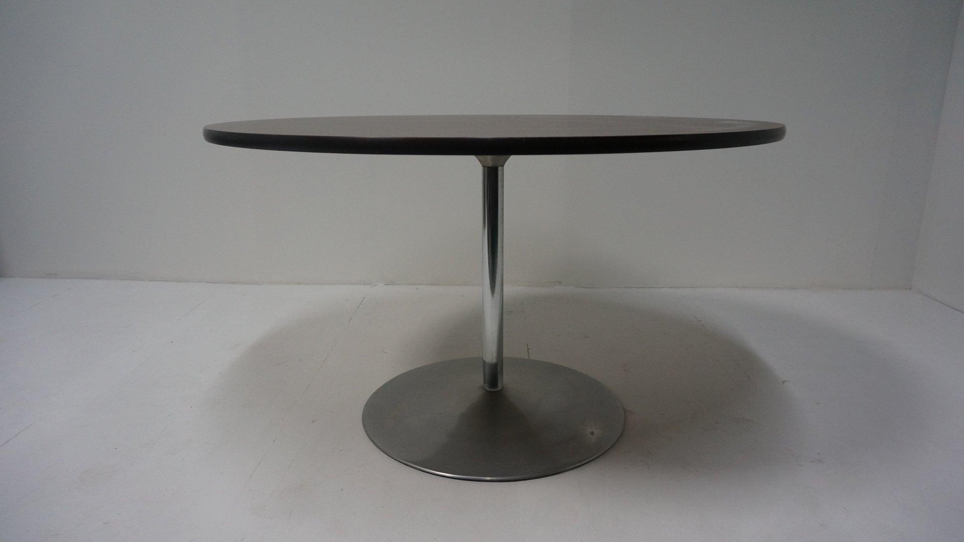 runder vintage tisch von verner panton f r fritz hansen. Black Bedroom Furniture Sets. Home Design Ideas